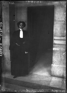 Hélène Miropolsky, the first woman barrister in Europe, 25 September 1908