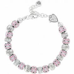 Pretty In Pink Charm Bracelet by Brighton