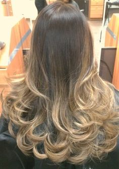 High contrast asian ombré with gold blond | Yelp