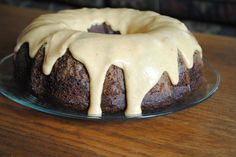 chocolate pumpkin spice bundt cake. The perfect fall flavors