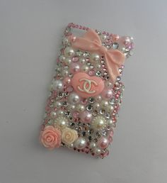 iPod Touch 4th Generation Chanel Inspired Pink & by PrettyDreadful, $30.00.. ooooooo I wish they made this as an android phone case!