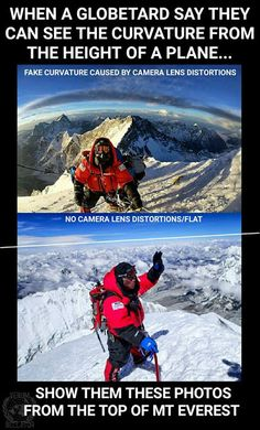 Mount Everest is 29,000 feet. Cruising altitude of commercial jets is 10,000 feet higher at 39,000 feet. The flatties are right, you won't see the curvature out the little window as you need at least 60 degrees of view and a higher altitude.