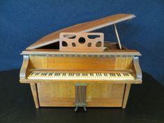 Madera Antiguo Vintage 40s Antigua Clásica general televisión Piano De Cola Radio de Tubo