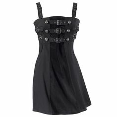 Steampunk Buckle Dress from The Pyramid Collection