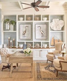 A Southern Mother — Costal design inspiration for an office space...