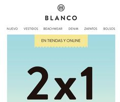 Blanco - Leve 2 Pague 1 - http://parapoupar.com/blanco-leve-2-pague-1/