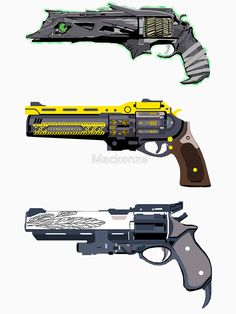 Exotic year one hand cannons.