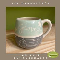 Painted Ceramics, Ceramic Painting, Mugs, Tableware, Ad Home, Painted Pottery, Dinnerware, Tumblers, Tablewares