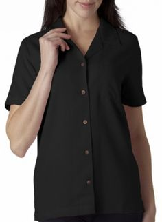 4a88c55cf84c Relaxed Fit Womens Button Down Shirt