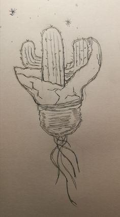 Pin by jillian pereira on drawing in 2019 dibujos, dibujos a lápiz, dibujos Tumblr Drawings, Cool Art Drawings, Pencil Art Drawings, Easy Drawings, Drawing Sketches, Gcse Art Sketchbook, Doodle Art, Art Inspo, Indoor Cactus