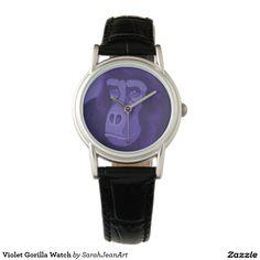Violet Gorilla Watch