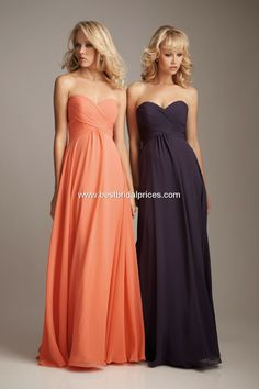 My bridesmaid's dresses (but it will be platinum/silver)