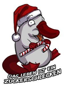 #schnabeltier #platypus #merchandise #deponia #daedalic #games #videogames #christmas #daedalicschristmas