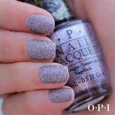 OPI Liquid Sand nail polish in Baby Please Come Home Fabulous Nails, Gorgeous Nails, Nail Polish Designs, Nail Art Designs, Cute Nails, Pretty Nails, Opi Nail Colors, Uñas Fashion, Manicure Y Pedicure