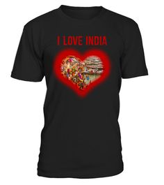 # I love India .  I love India T-shirtsGreat quality!Smashing price!Grab before it's gone