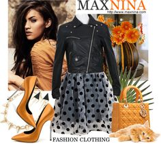 """MAXNINA online"" by franzine ❤ liked on Polyvore"