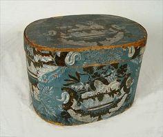 IMPORTANT HANNA DAVIS AMERICAN BAND BOX 1829
