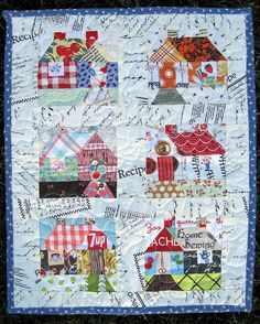 Mini Quilt From Paula❣❣❣ by elnorac, via Flickr