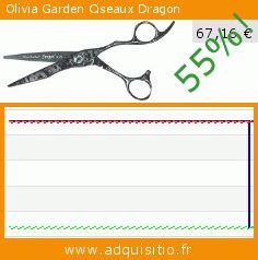 Olivia Garden Ciseaux Dragon (Beauté et hygiène). Réduction de 55%! Prix actuel 67,16 €, l'ancien prix était de 150,90 €. https://www.adquisitio.fr/olivia-garden/ciseaux-dragon-0