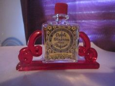 Vintage APPLE BLOSSOM TIME PERFUME BY LANDER 1/8 OZ VINTAGE COLLECTIBLE RARE