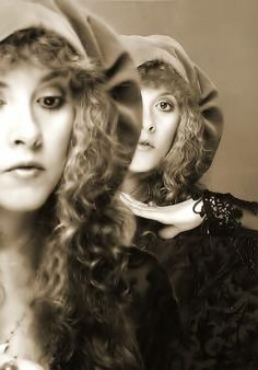 Stevie twice ~ a lovely photo edit where her eyes and highlighted ~ ☆♥❤♥☆ ~ eyes that look right into your soul