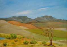 Overberg Landscape - OP406 by ArtbyBruceStudio on Etsy