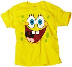 c455f400a1 Sponge Bob Squarepants Boys 8-20 Sponge Bob Tee Spongebob Squarepants