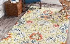 My Texas House by Orian Indoor/Outdoor Lady Bird Harbor Blue Area Rug & Reviews | Wayfair Aqua Area Rug, Orange Area Rug, Blue Area, White Area Rug, Beige Area Rugs, Living Room Carpet, Living Room Modern, Dark Blue Rug, Walnut Dining Table