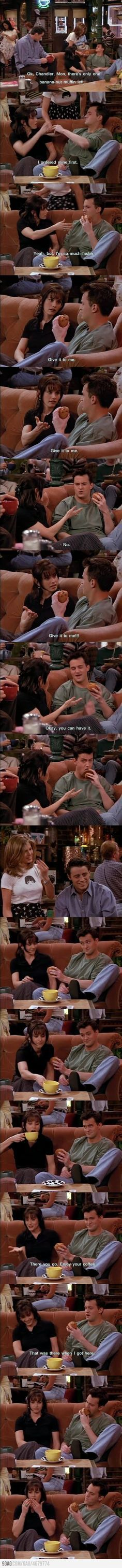 Monica and Chandler, the early years ~ Friends: Season 2, Episode 23 ~ The One With The Chicken Pox