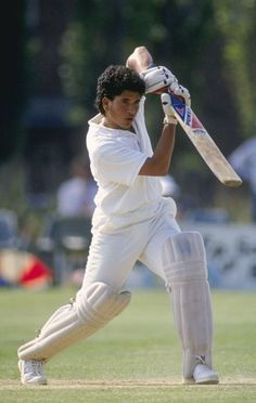 A young boy at 16 years of age travels to pakistan to face one of the most deadly attacks of that time.....gets hit on an helmet.....non striker sidhu just writhes in watching this chap being hit by that ball....but still the youngster carries showing no signs of pain....that was sachin ramesh tendulkar......