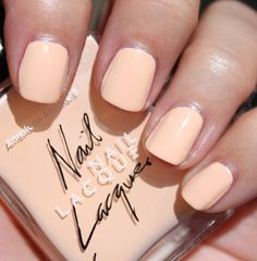 Summer Peach Nail Lacquer by AmericanApparel.