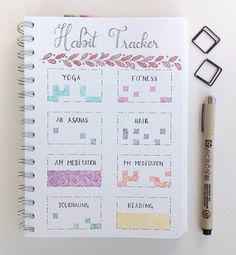 I made a few changes to my habit tracker since last month inspired by some of you guys who had the brilliant idea to make a pattern with the days😊 • • • • #bulletjournal#planner#bujo#bulletjournaling#bulletjournaljunkies #dailies #weekly#leuchtturm1917#plannercommunity #showmeyourplanner #doodle #personalplanner #stabilo #autumn #october #planning #uni #tombow @showmeyourplanner #micron #succulents #cactus