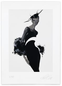 David Downton, Versace, 2008. Limited Edition FIG Print. Signed and numbered by the artist. Price subject to currency exchange rate at the time of ordering. $500.00.