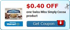 My Alabama Gulf Coast Mommy: Target - Swiss Miss Simply Cocoa $0.77