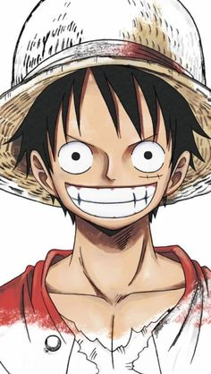 Luffy Monkey D. • {Capitaine au Chapeau Paille} ~ ⛵️ Straw Hat Pirates ⛵️ ~ ⚓️_One_Piece_⚓️
