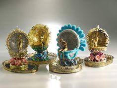 Encrusted 2013 Ceramic sculpture... Credit: Valaria Tatera (Click to Support Artist)
