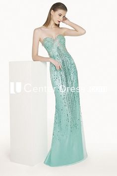 $113.39-Sexy Sweetheart Sheath Strapless Tulle Long Sequin Long Formal Dress. http://www.ucenterdress.com/sweetheart-sheath-tulle-long-prom-dress-with-sequins-pMK_301304.html.  Free Shipping & Free Custom on formal dresses. We have a large selection of formal dresses and formal wear, formal dresses long, formal dresses for teens, formal dresses for 8th grade, winter formal dresses college, 2016 Formal Dresses on sale now. #Formal #Dresses