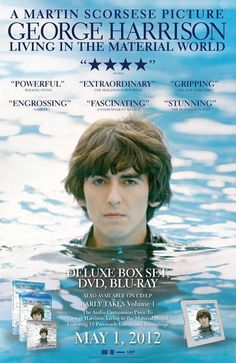 OUT TODAY! The critically-acclaimed Martin Scorsese documentary 'George Harrison: Living in the Material World' on DVD, Blu-ray, Digital or Deluxe Box Set.