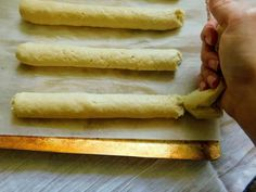 Dec 2018 - These super soft gluten free breadsticks can be on your table in 45 minutes - lightly seasoned, easy to make and even easier to enjoy! Gluten Free Pierogies, Gluten Free Biscuits, Gluten Free Flour, Gluten Free Baking, Gluten Free Desserts, Dairy Free Recipes, Bread Recipes, Gluten Free Egg Roll Wrappers, Gluten Free Egg Rolls