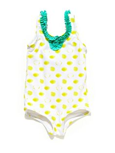 Ruffle Neck Swimsuit by Egg on sale now on #Gilt.