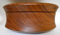Mid Century Danish Modern Large Teak Bowl reminds me of a JHQ peppermill or an Eames stool by MidCenturyFLA on Etsy, $50.00