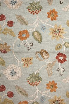 Jaipur Rugs Blue Garden Party Sea Blue Area Rugs