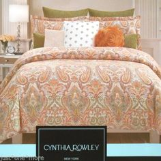 Details About 7 Pc Aster Floral Paisley Scroll Embroidery