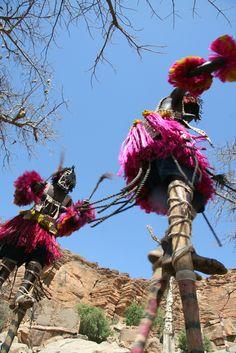Dogon dance . Mali