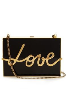 Love box clutch bag | Lanvin | Available now at MATCHESFASHION.COM UK