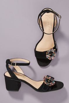 Nanette Lepore Rae Heels by in Black Size: at Anthropologie Nanette Lepore, Best Part Of Me, Black Heels, World Of Fashion, Luxury Branding, Ankle Strap, Elegant, My Style, Shoes