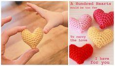 #free #crochet heart pattern from @mamachee