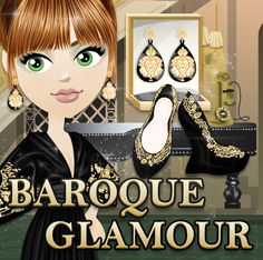 Baroque Glamour is the newest VIP collection! REPIN if you love!!