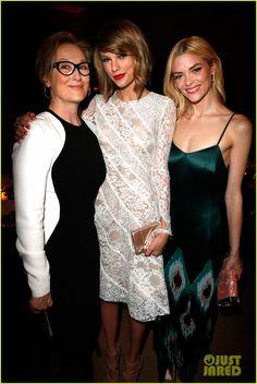 Meryl Streep, Taylor Swift & Jamie King