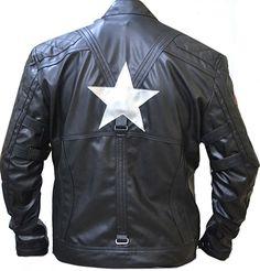 "Celebrita Itally Men's American Captain Avenge 5 Black Biker Leather Jacket CowA4 Cow Black XS - For Chest 34""-36"""